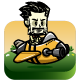 Male Pilot Game Character - Bee Aircraft Sprites - GraphicRiver Item for Sale