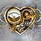 Steampunk Heart with Manometer - GraphicRiver Item for Sale