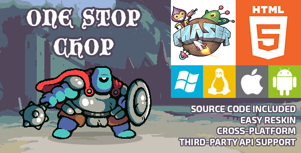 One Stop Chop - HTML5 Game - Phaser - CodeCanyon Item for Sale