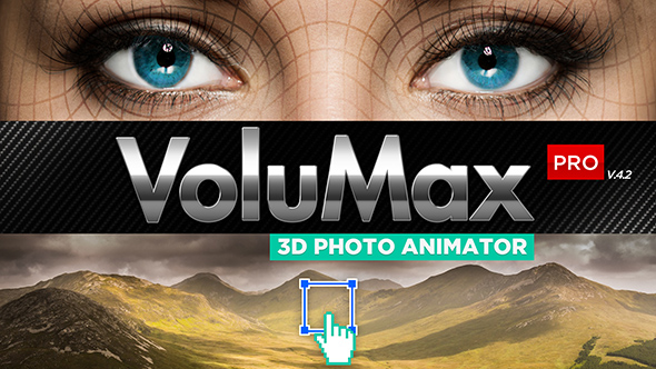 Videohive - VoluMax - 3D Photo Animator Pro V4.1 - 13646883