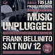 Music Unplugged Flyer Template