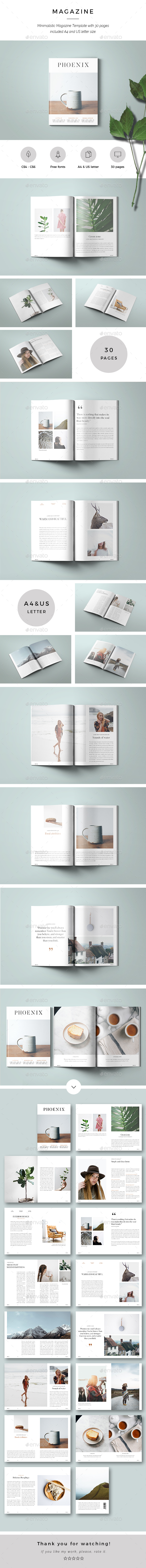 Phoenix Magazine - Magazines Print Templates