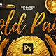 Gold Paint Effect for Photoshop - GraphicRiver Item for Sale