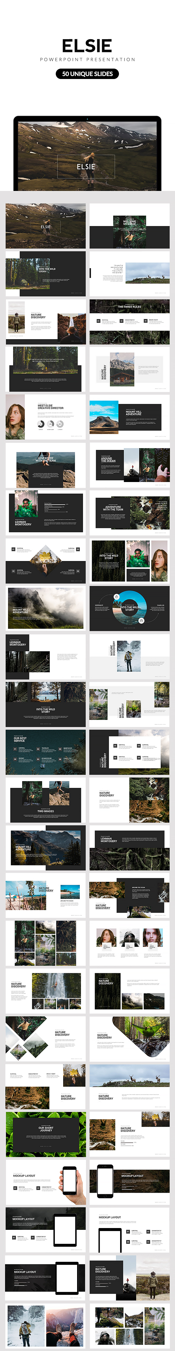 Elsie Powerpoint Presentation - Creative PowerPoint Templates