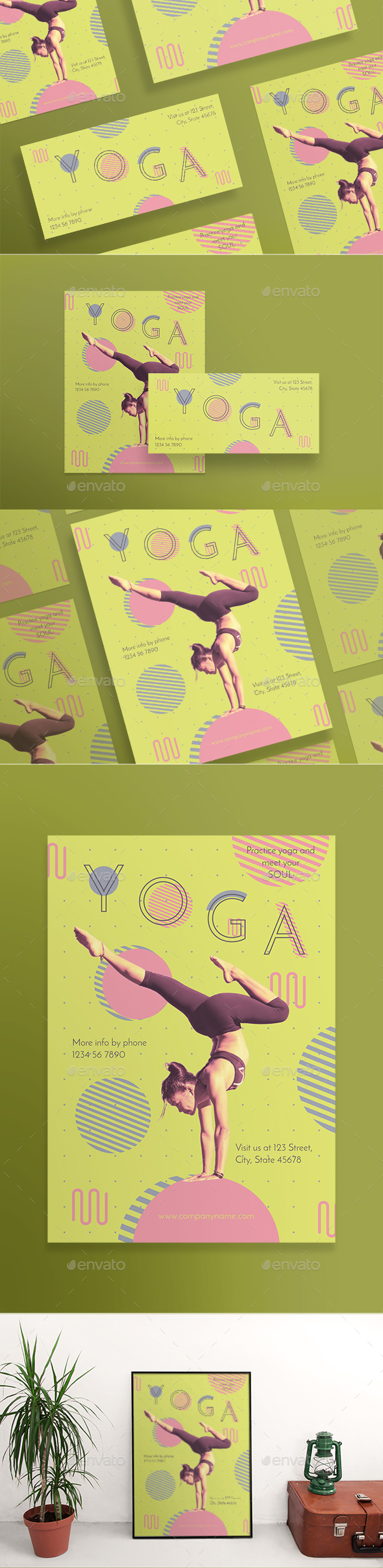 Yoga Flyers - Sports Events