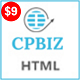 CPBIZ - Multipurpose HTML5 Template - ThemeForest Item for Sale