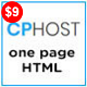 CPHost - One Page Hosting Landing page - ThemeForest Item for Sale