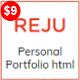 REJU - One Page Personal Portfolio Template