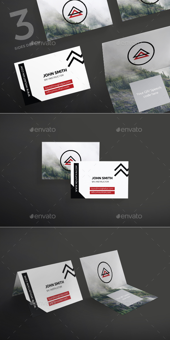 Climbing Business Card - Corporate Business Cards