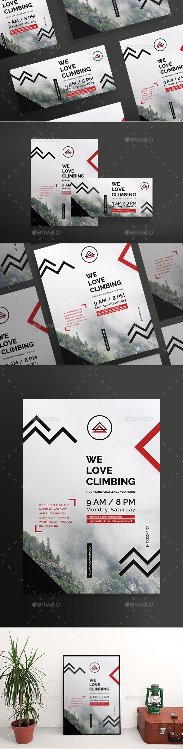 Climbing Flyers - Sports Events