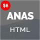 ANAS - Personal Portfolio HTML5 Template - ThemeForest Item for Sale