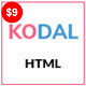 KODAL - Personal Portfolio HTML5 Template - ThemeForest Item for Sale