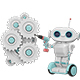 Little Robot and the Mechanism - VideoHive Item for Sale
