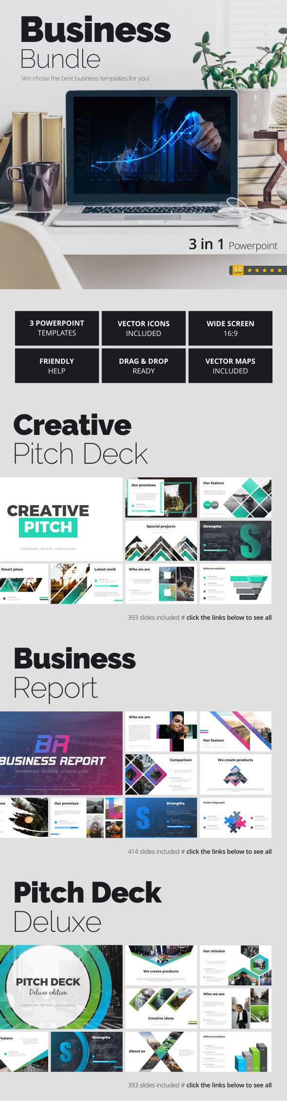 Business Bundle - Business PowerPoint Templates