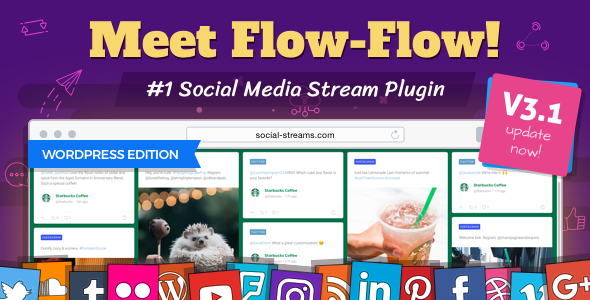 Flow-Flow — WordPress Social Stream Plugin - CodeCanyon Item for Sale