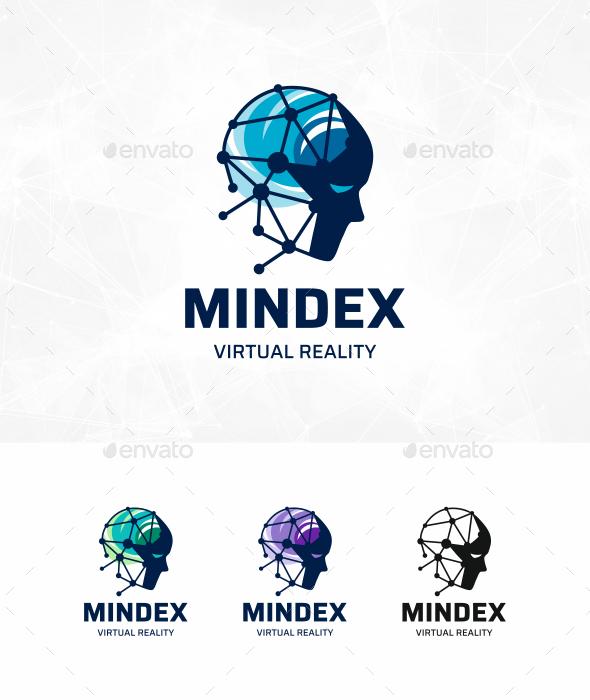 Face Tech Logo - Humans Logo Templates