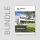 Architeo – Architecture and Interior Brochures Bundle Print Templates 3 in 1