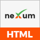 neXum Host - Hosting and Domain HTML Template - ThemeForest Item for Sale