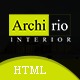 Archirio Interior HTML Template - ThemeForest Item for Sale