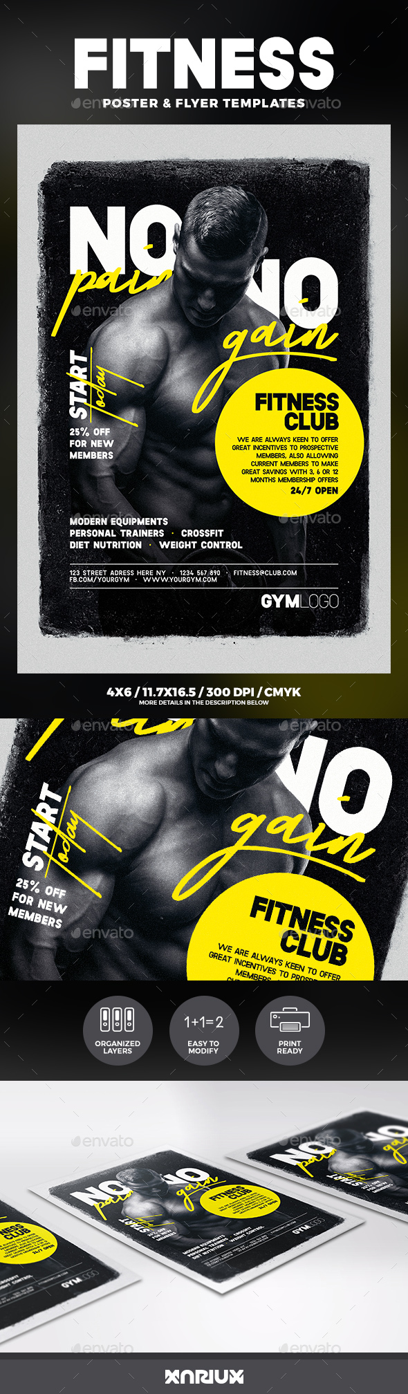 Fitness Flyer & Poster - Sports Events