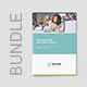 Creative Agency – Brochures Bundle Print Templates 10 in 1