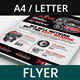 Car Parts and Auto Supply Center Flyer - GraphicRiver Item for Sale