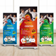 Kids Karate Training Roll Up Banner