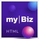 MyBiz - The First Multi-Business & Booking HTML Theme