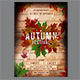 Autumn Festival Flyer Template - GraphicRiver Item for Sale
