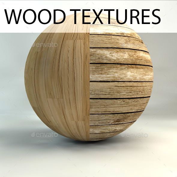 6 Old Woods Textures Pack - 3DOcean Item for Sale