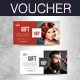 Hairdresser Salon Gift Voucher - GraphicRiver Item for Sale