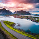 Lofoten archipelago islands aerial photography. - PhotoDune Item for Sale