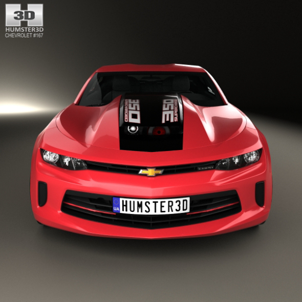 Chevrolet Camaro Copo 2016 By Humster3d 3docean