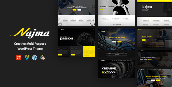 Najma - Creative Multi-Purpose WordPress Theme - Creative WordPress