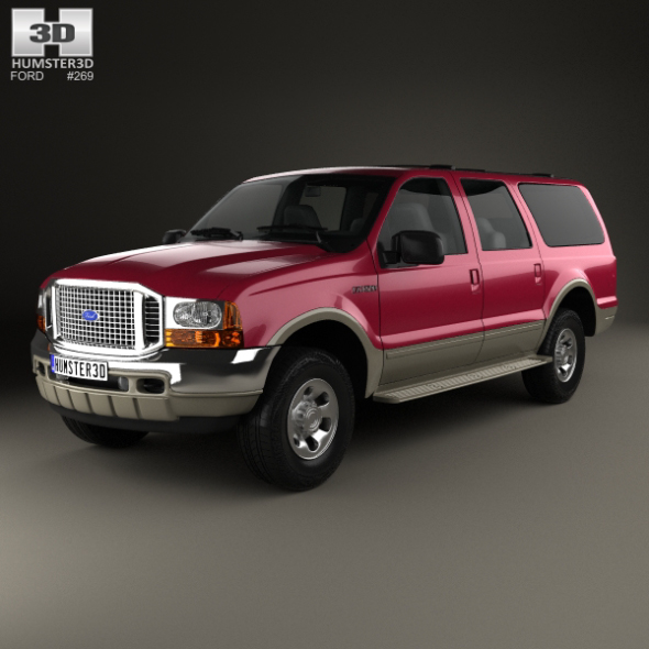Ford Excursion 1999 - 3DOcean Item for Sale