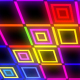Flashing Neon Colorful Cube - VideoHive Item for Sale