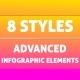 Bundle Advanced Infographic Elements - GraphicRiver Item for Sale