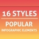 Bundle Popular Infographics Elements - GraphicRiver Item for Sale