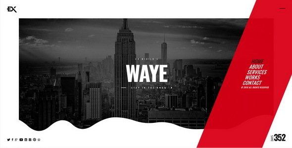 Waye || Under Construction / Coming Soon Template