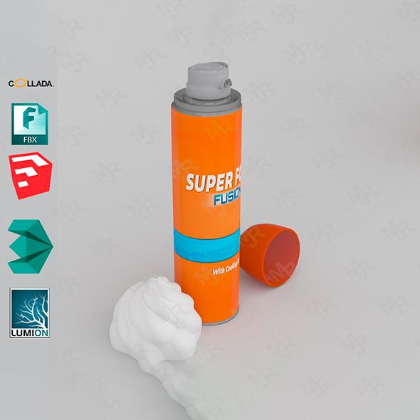 Pack of Shaving Bottles - 3DOcean Item for Sale