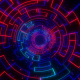Techno Grid Tunnel - VideoHive Item for Sale
