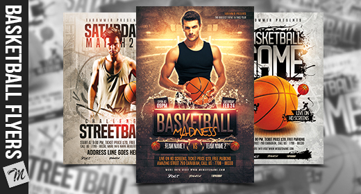 BASKETBALL FLYERS