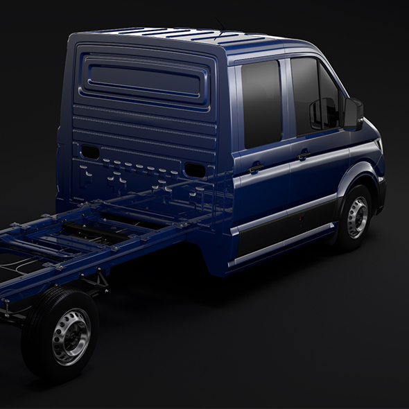 MAN TGE Chassi DoubleCab L2 2017 - 3DOcean Item for Sale