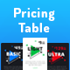 Geometric Pricing Table - GraphicRiver Item for Sale