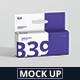 Box Mockup - Wide Small Rectangle with Hanger - GraphicRiver Item for Sale