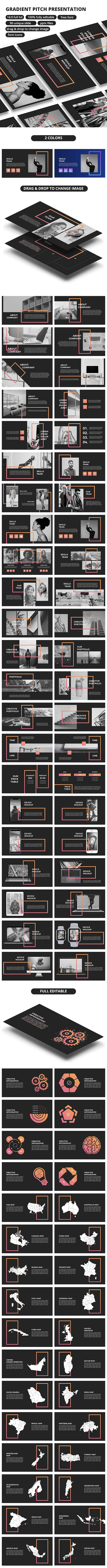 Gradient Pitch - PowerPoint Presentation - Business PowerPoint Templates