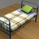 Bed Soviet - 3DOcean Item for Sale