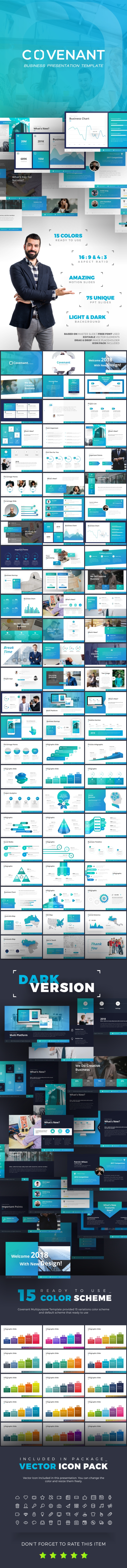 Covenant Business Presentation - Business PowerPoint Templates