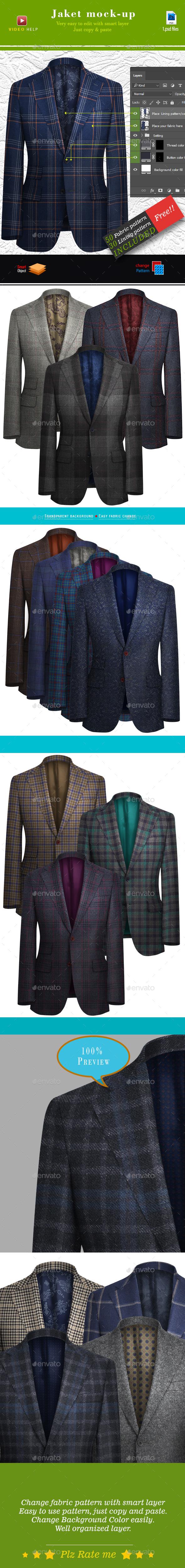 Jacket Mockup - Apparel Product Mock-Ups