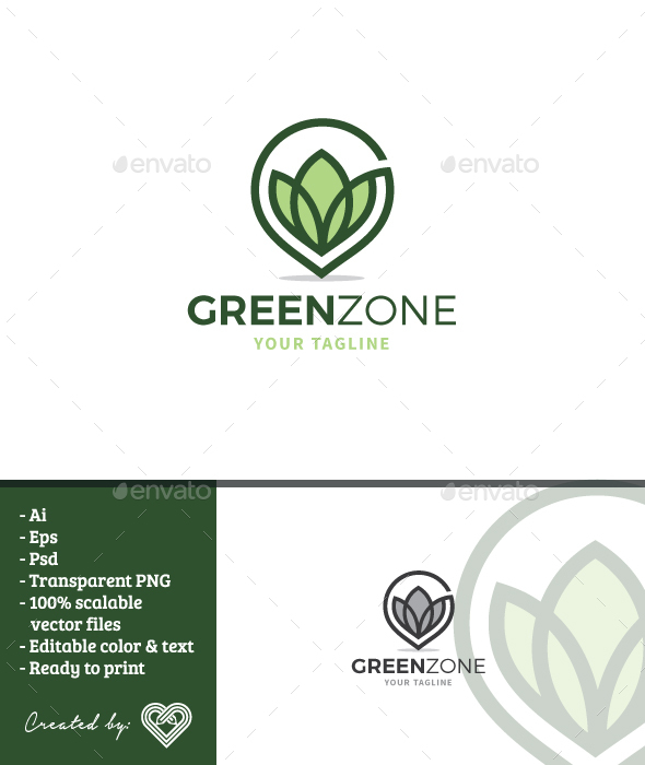 Green Zone - Nature Logo Templates
